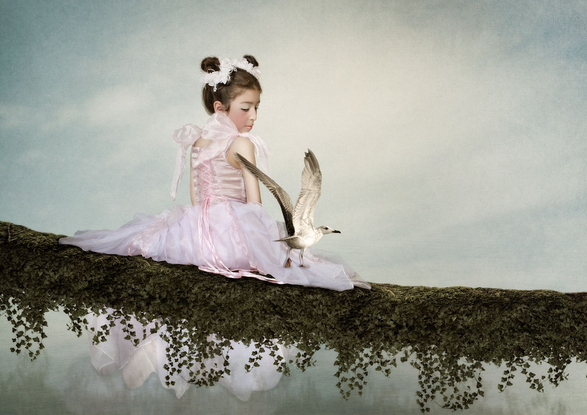 Девочка и чайка