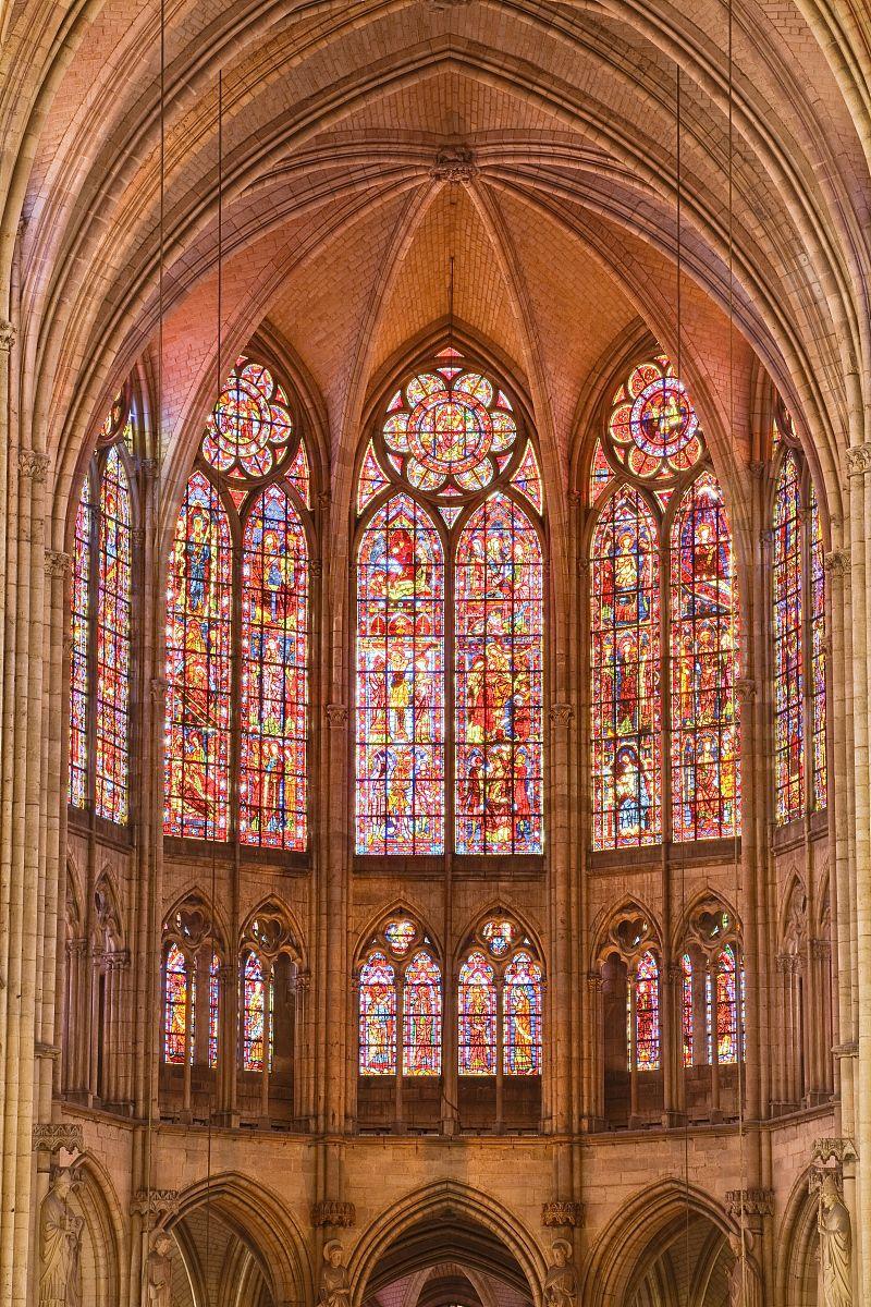 窗户,大教堂,哥特式风格,建筑,彩色玻璃,摄影,与摄影有关的场景,欧洲图片