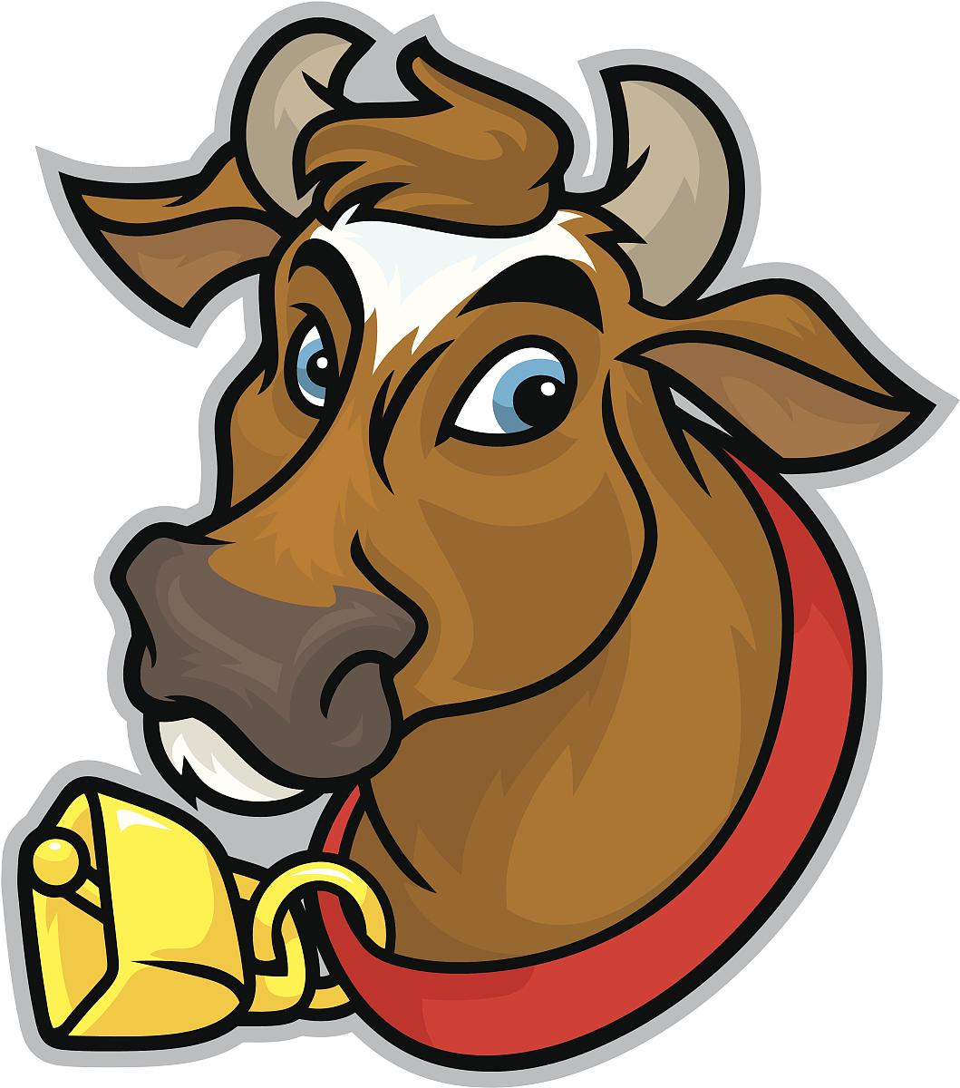 英属格恩西牛的吉祥物图片