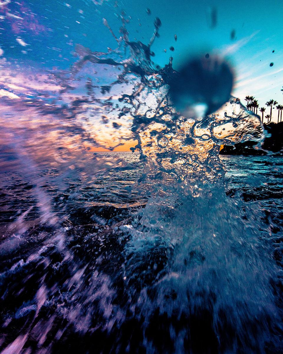 自然,运动模糊,水彩画颜料,行动,垂直画幅,流动,自来水,美国,自然美图片