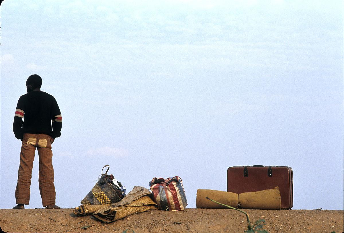 非洲难民图片
