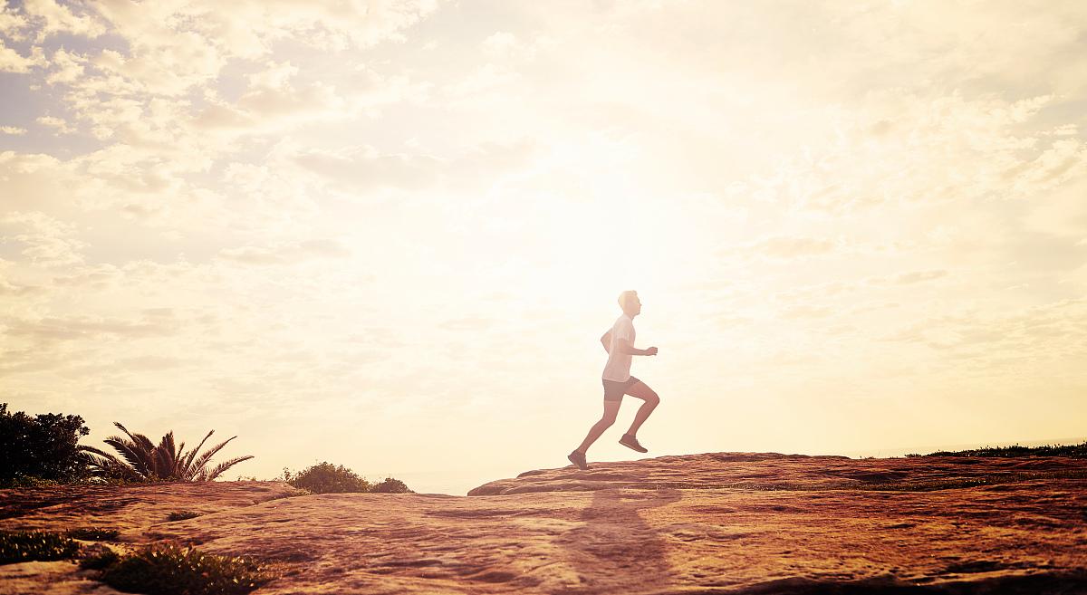 松弛练习,贡献,仅成年人,决心,真实的人,身体活动,坚持,一个人,慢跑图片