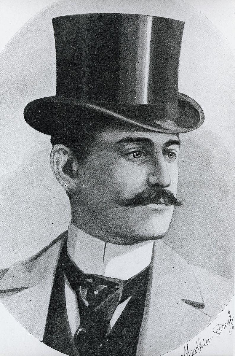 mathieudreyfus的肖像(18571930)阿尔弗雷德德雷福斯兄弟(18591