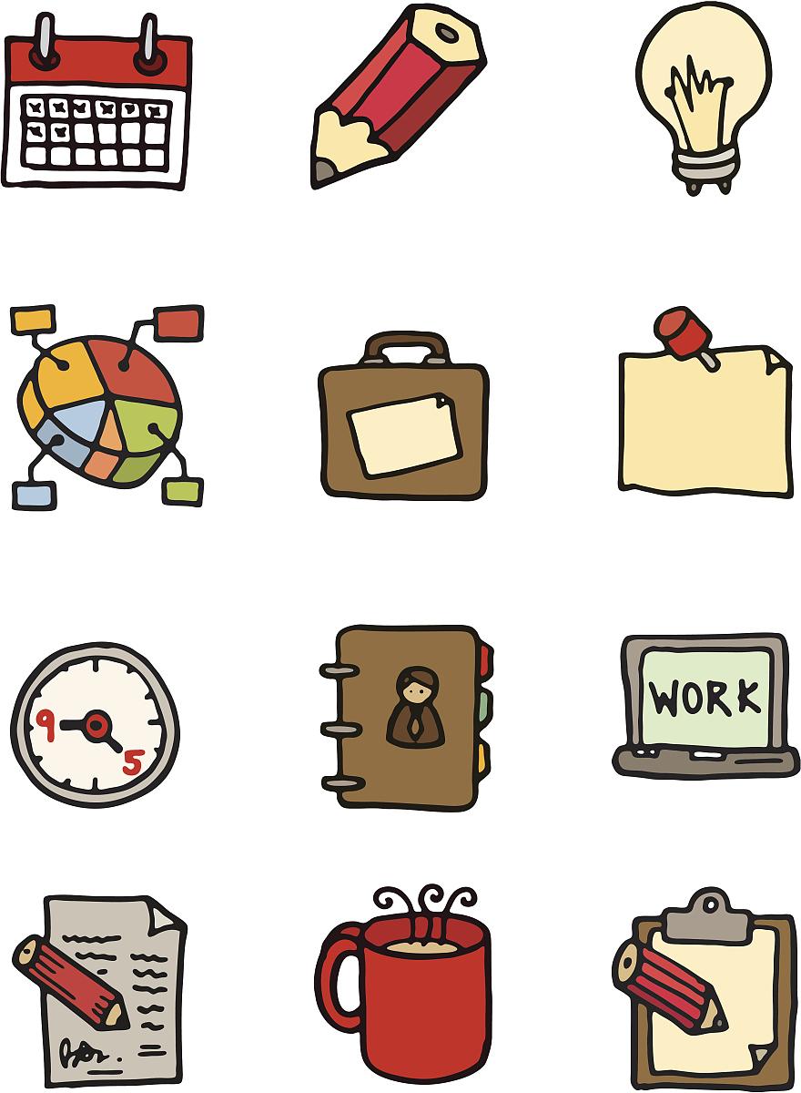 办公室小图标图片