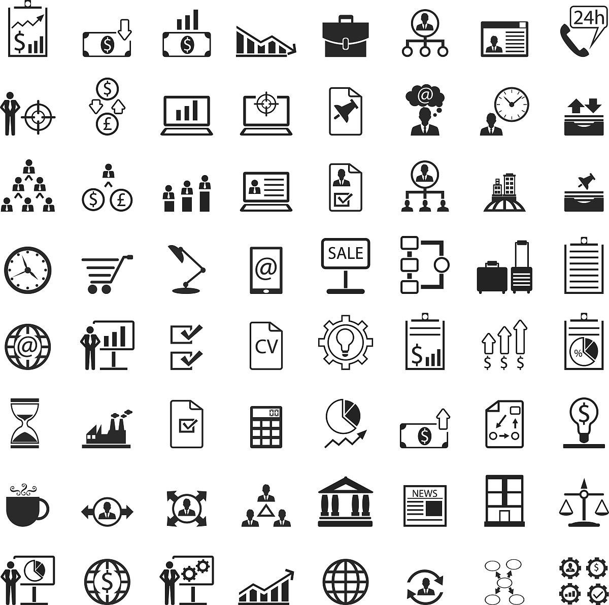 图,联系,简历,相伴,信函,技术,平衡,宾馆套房,想法,货币,图标,消息图片