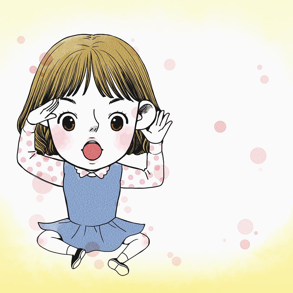 听���!�`iyn��+��n���'���_一个女孩在听谣言