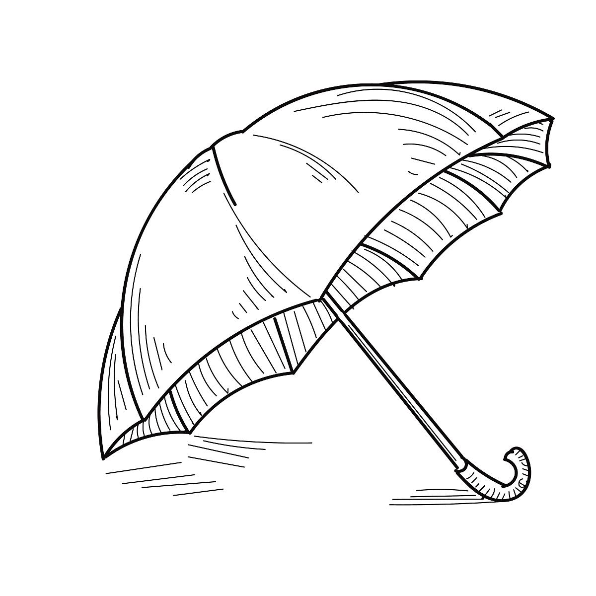 一个物体,简单背景,简单,保护,数码图形,伞,阴影,阳伞,线条画,草图图片
