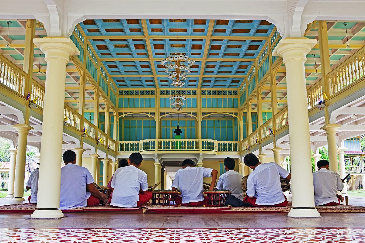 maruekatayawan宫殿.泰国华欣图片