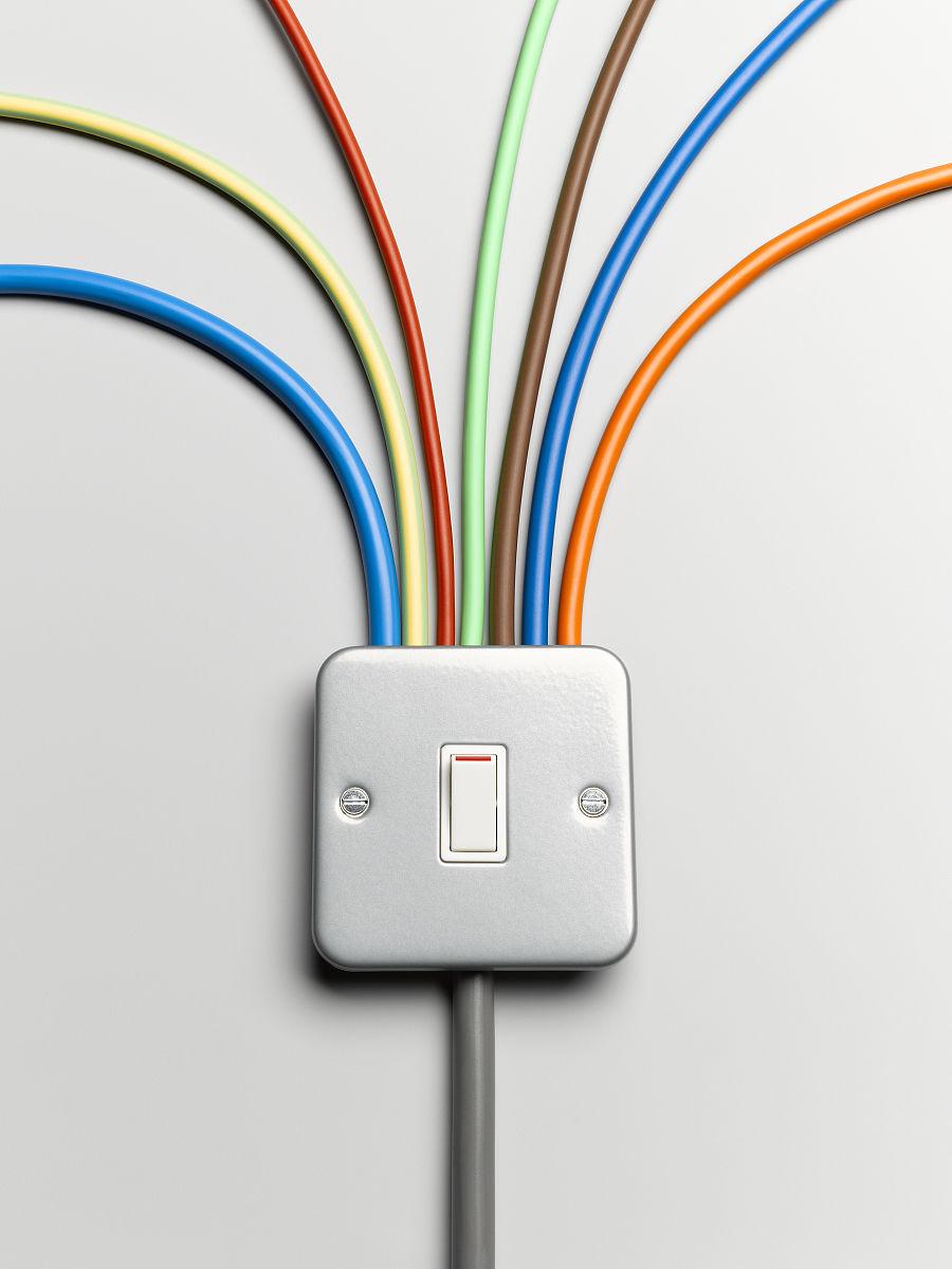 方向,多样,电,扇子,无人,彩虹,半圆形,水平画幅,静物,影棚拍摄,开关图片