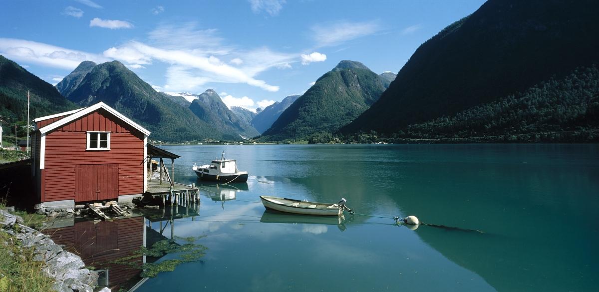 fjaerlandsjorden.挪威.