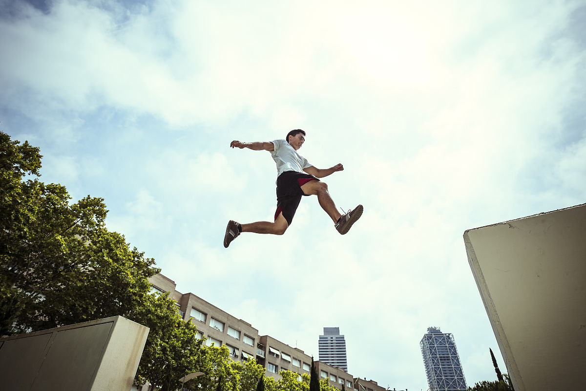 3d极限跑酷电脑版_仅男人,仅一个男人,摄影,真实的人,极限运动,仅成年人,跑酷,2015年