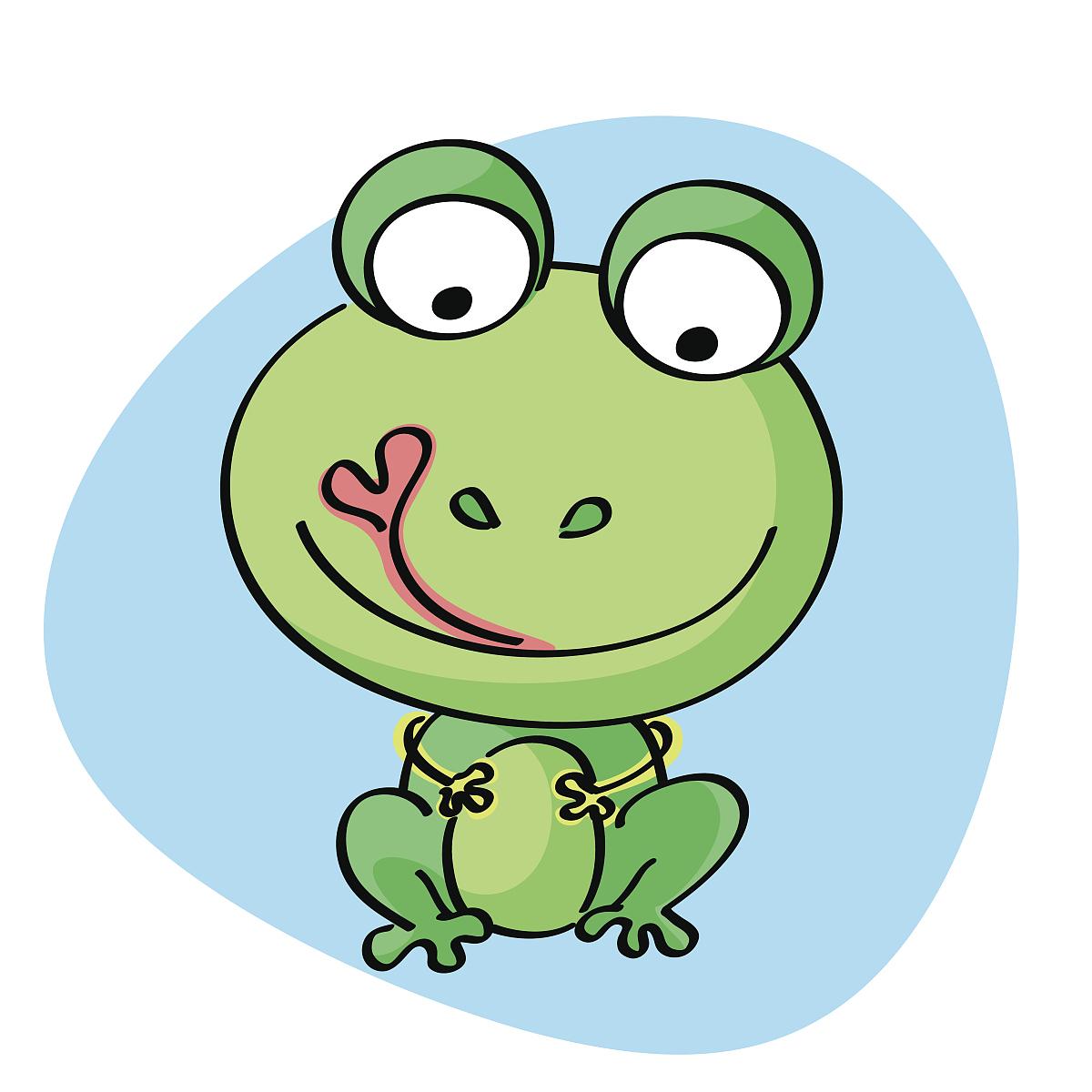 青蛙卡通图片