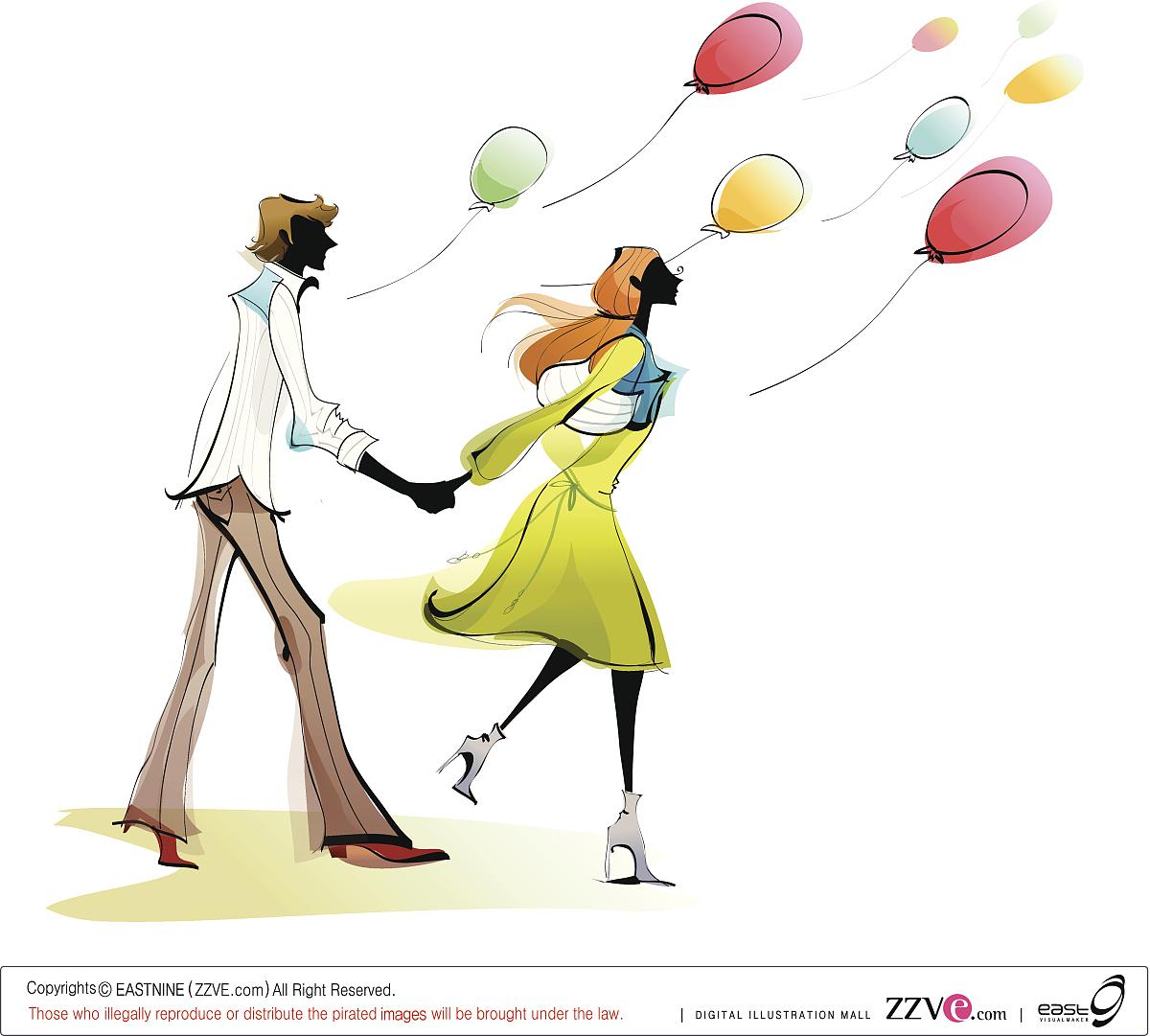 两个人,男性,男人,女性,女人,休闲活动,矢量,头发长度,伴侣,女朋友,男图片