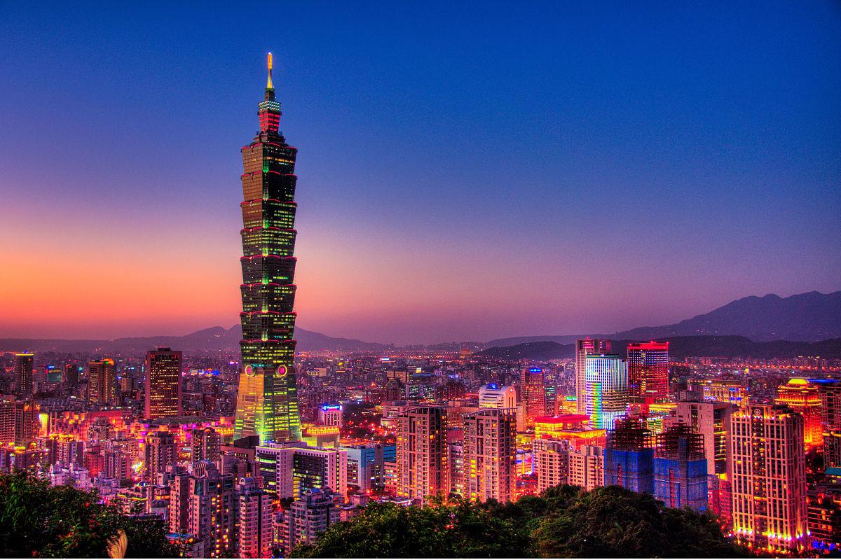 台北101图片