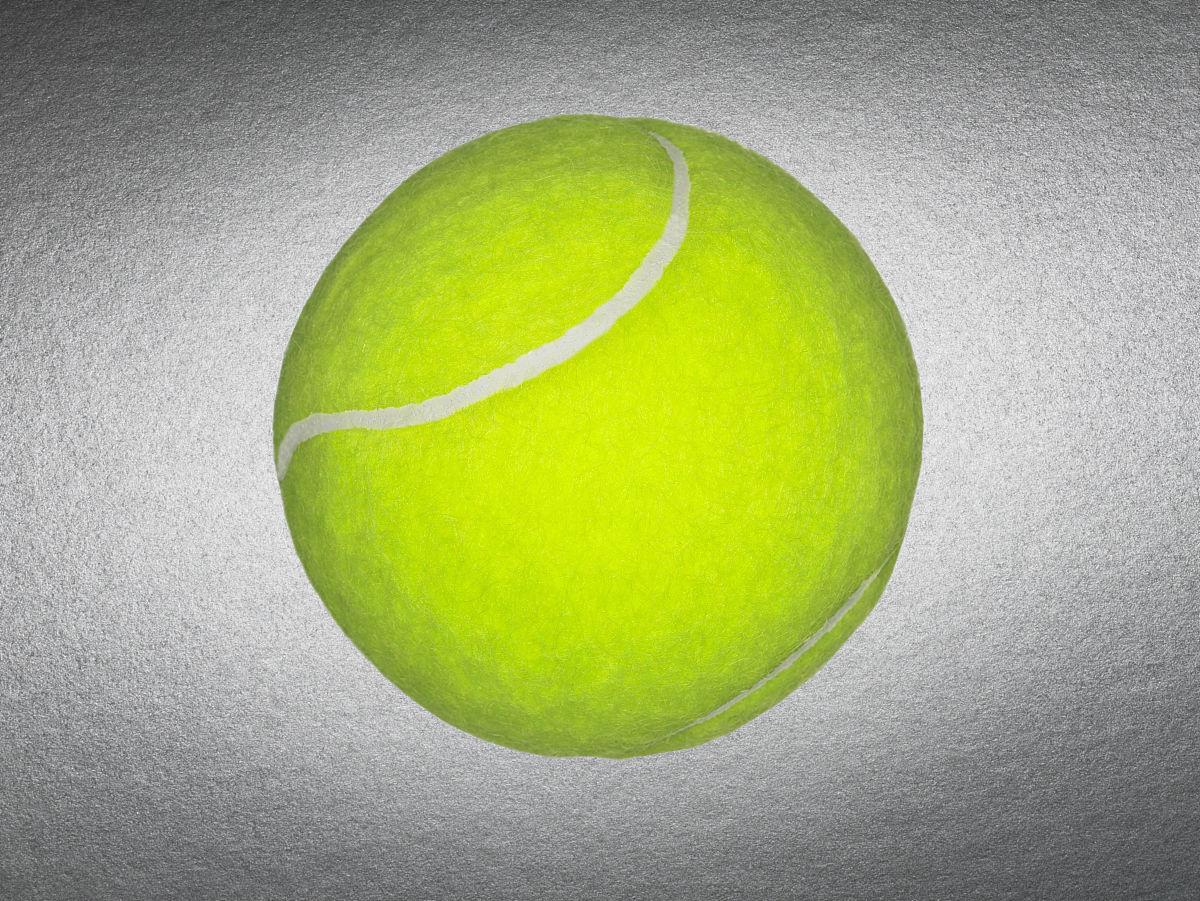 一个网球图片