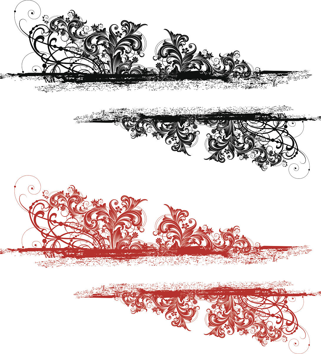 华丽的,雕刻图像,过时的,古董,无人,划痕,矢量,阿拉伯风格,花体,漩涡图片