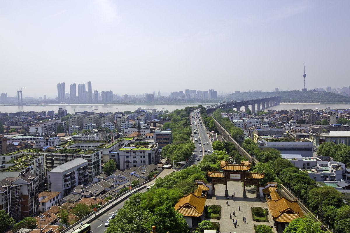 武汉城市景观图片