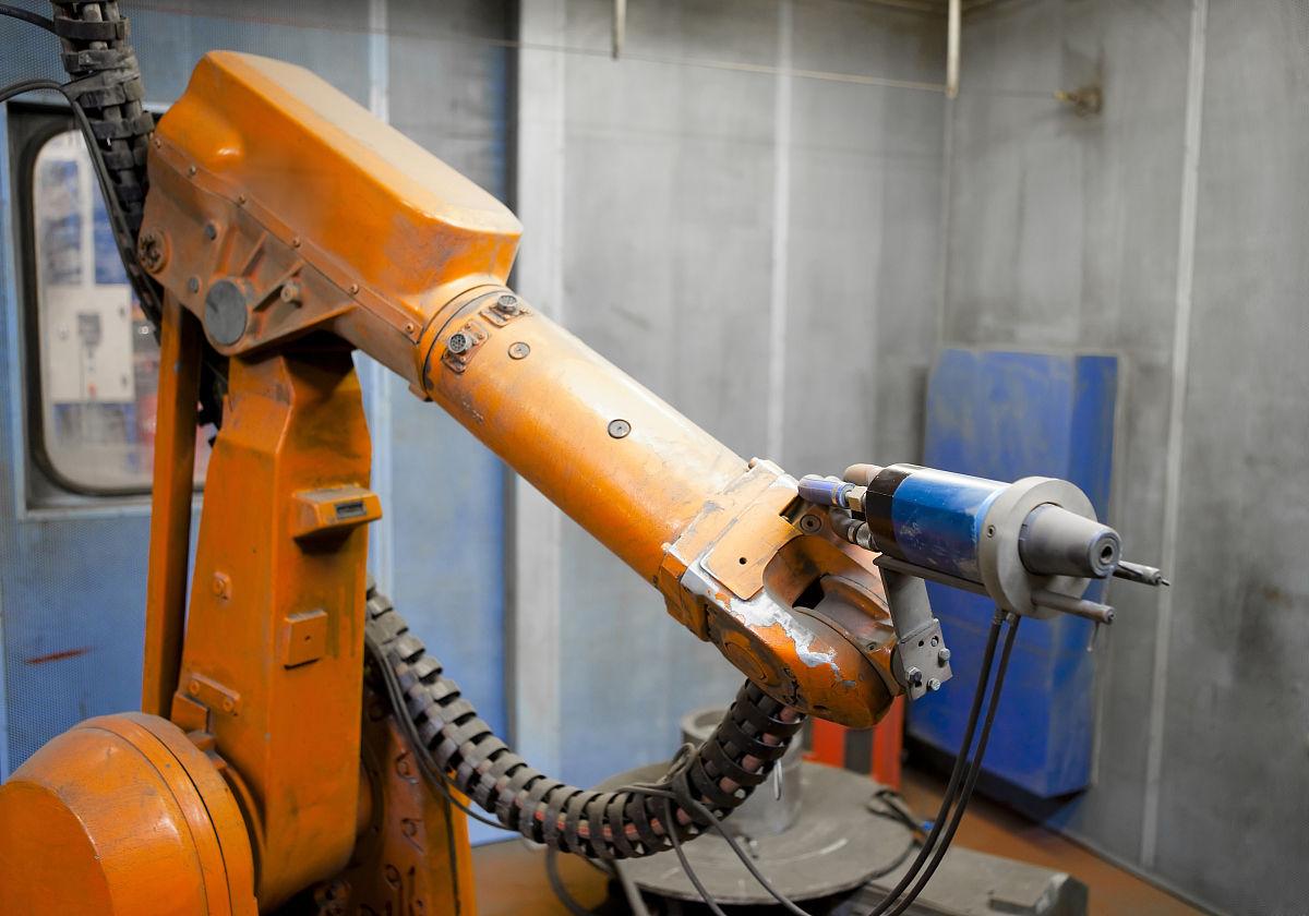液压支架,橙色,设备用品,工业机械,专门技术,武器,工业,技术,水平图片