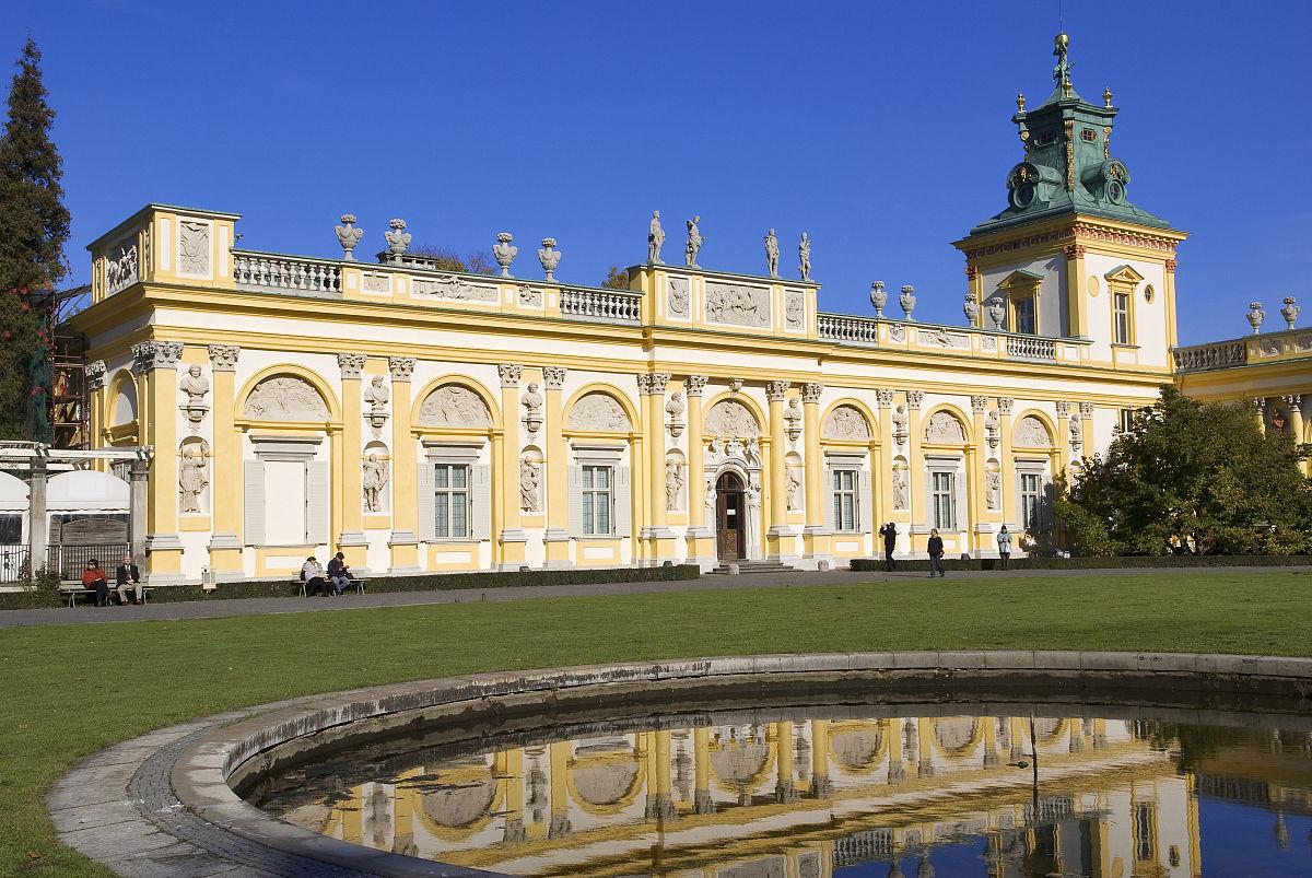 王䲹a��!n���[��X�_华沙,威拉诺区威拉诺宫殿以巴洛克风格建造的jean iii sobieski王在第