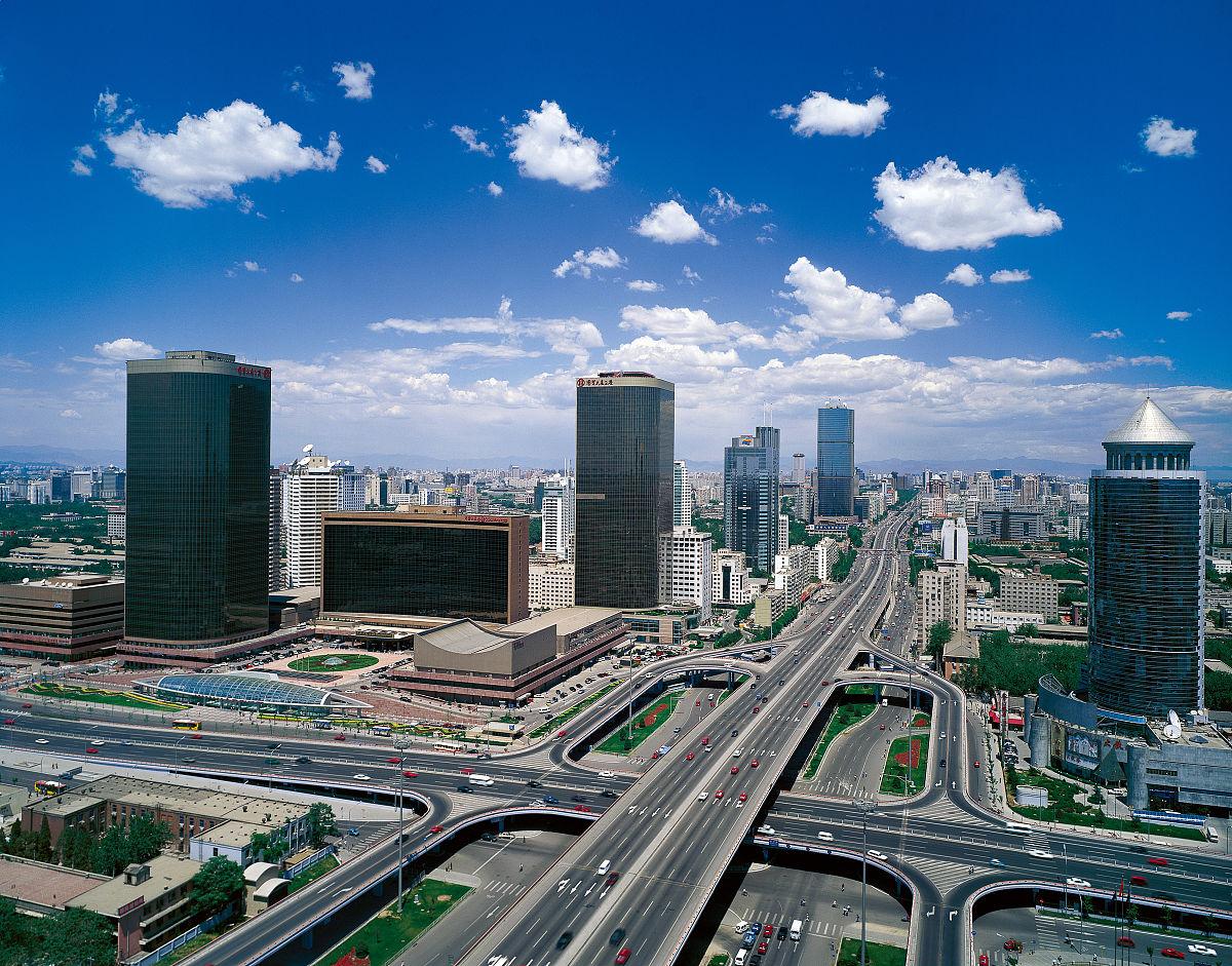 北京城市建筑日景图片