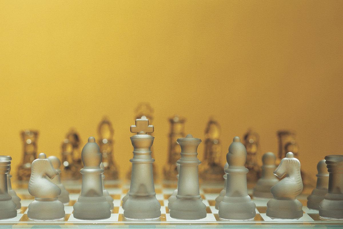 影棚拍摄,室内,对焦,选择对焦,国际象棋,棋盘,彩色图片,留白,无人图片
