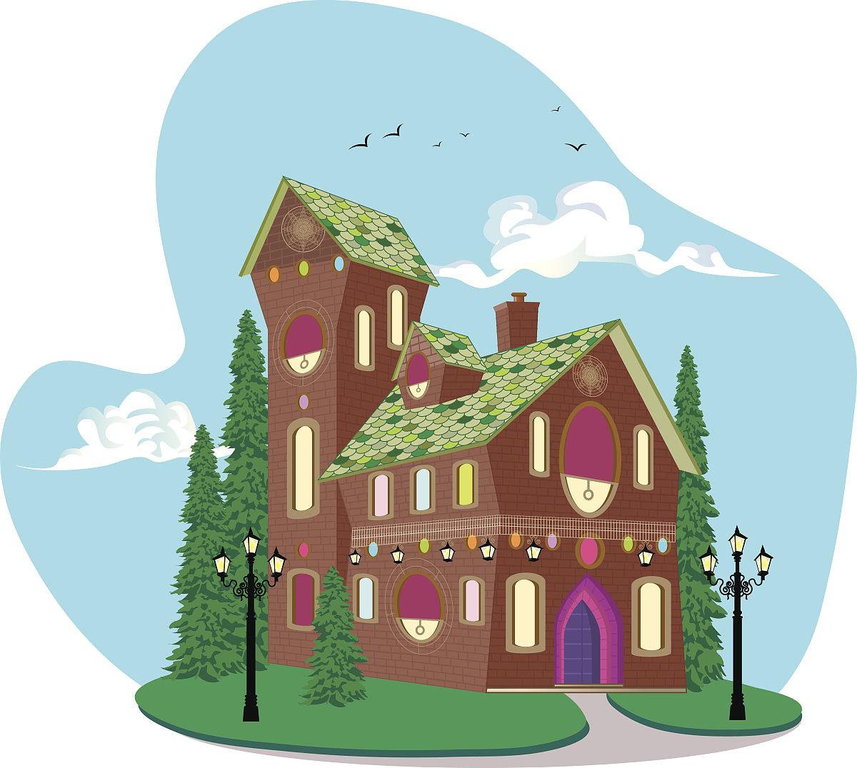 梦想中的房子图片