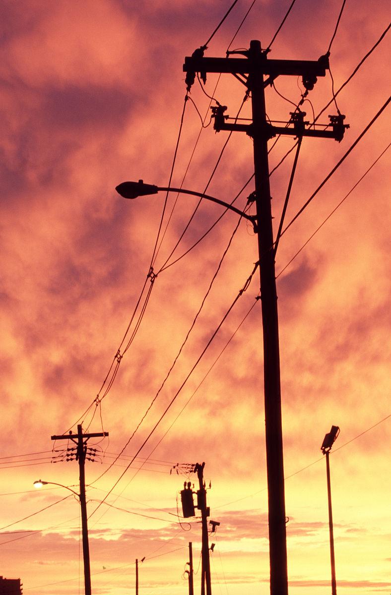 电线杆图片