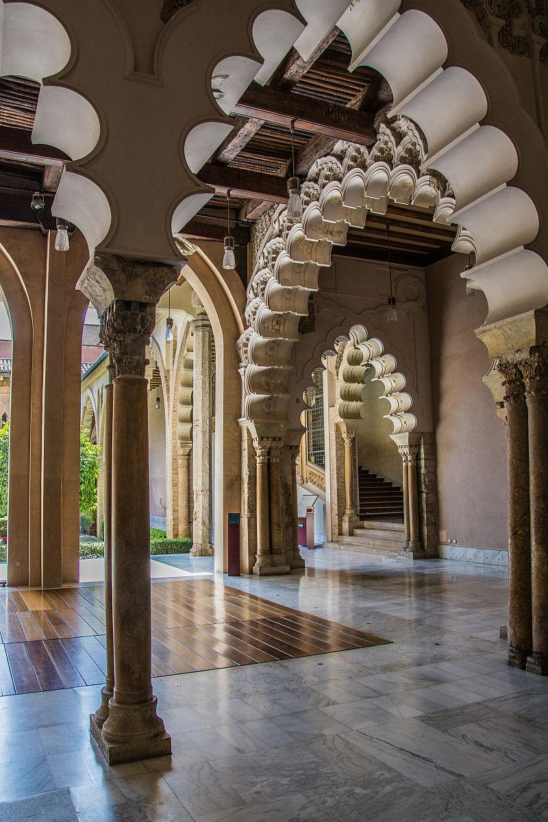 阿拉伯风格,建筑工地,地球,欢乐,停泊的,世界地图,旷野,宫殿,西班牙图片