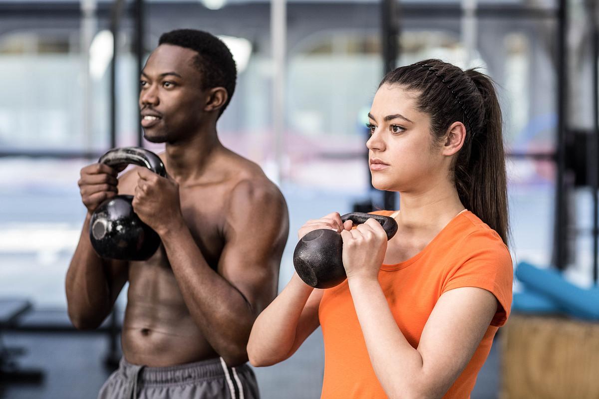 非洲肌肉女_动物群,知名运动员,动物肌肉,学校体育馆,美术肖像,影棚拍摄,非洲人