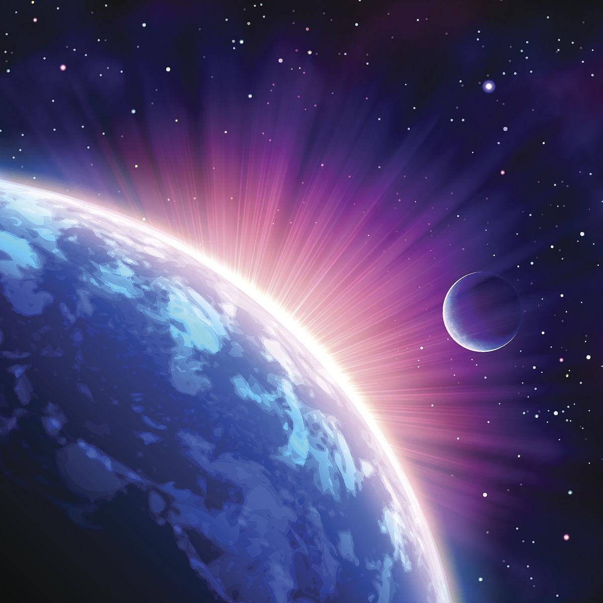 光�9aby�%_从卫星上拍摄的太阳光图像
