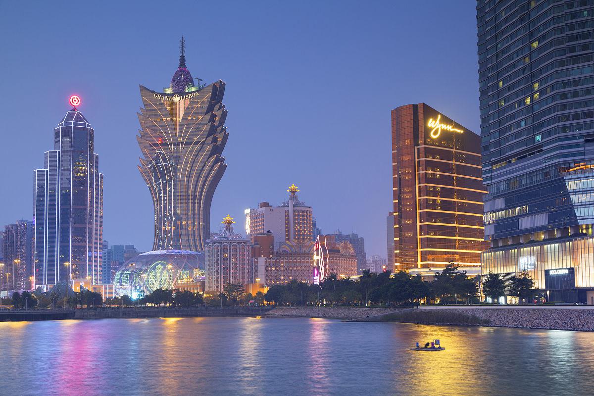 彩色图片无人建筑外部摄影葡京酒店旅游旅行艺术文化和娱乐20