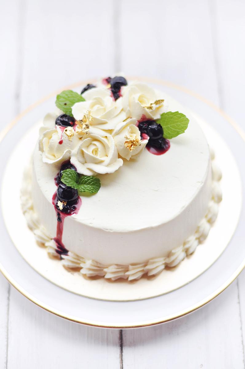 纯奶油蛋糕_奶油蛋糕