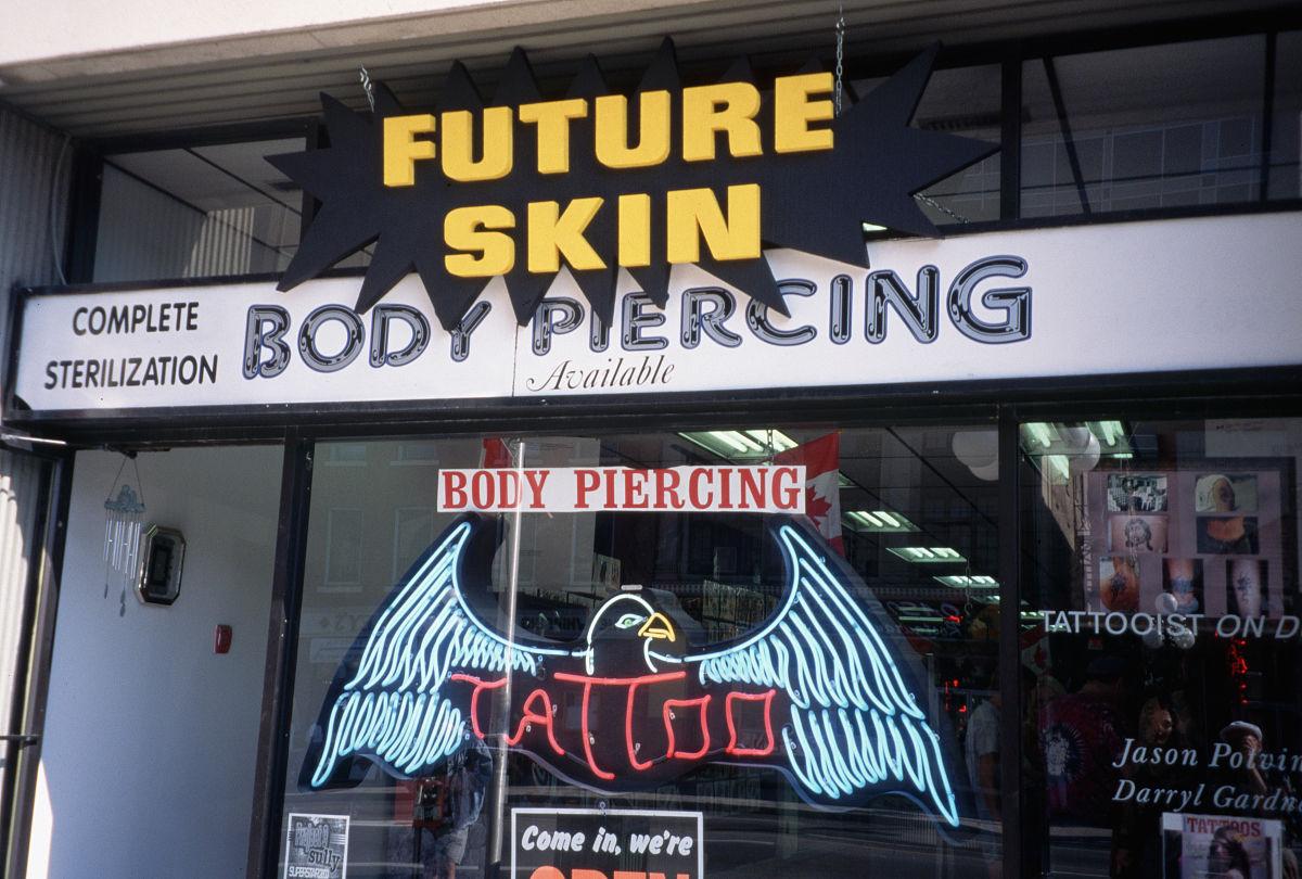 加拿大的纹身店图片