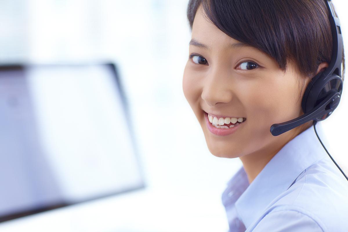 呼叫中心年轻客户服务图片