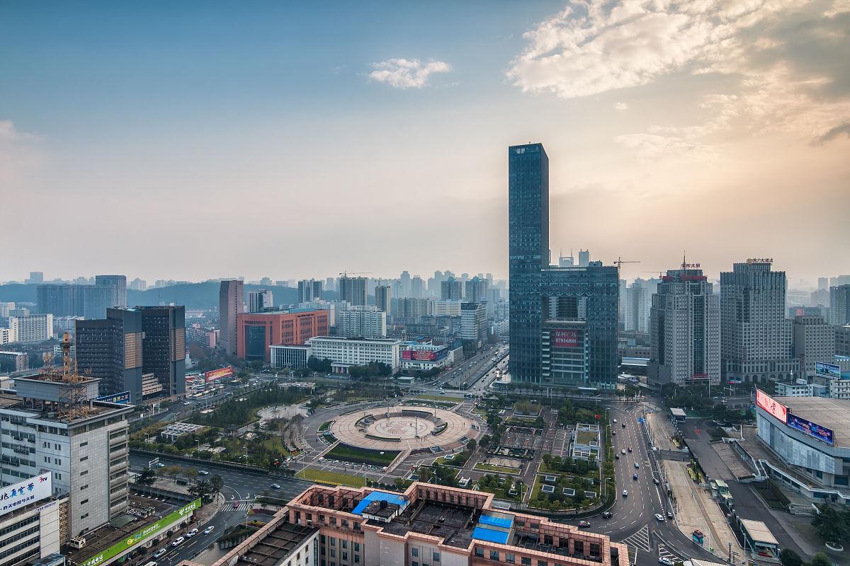 武汉洪山广场图片