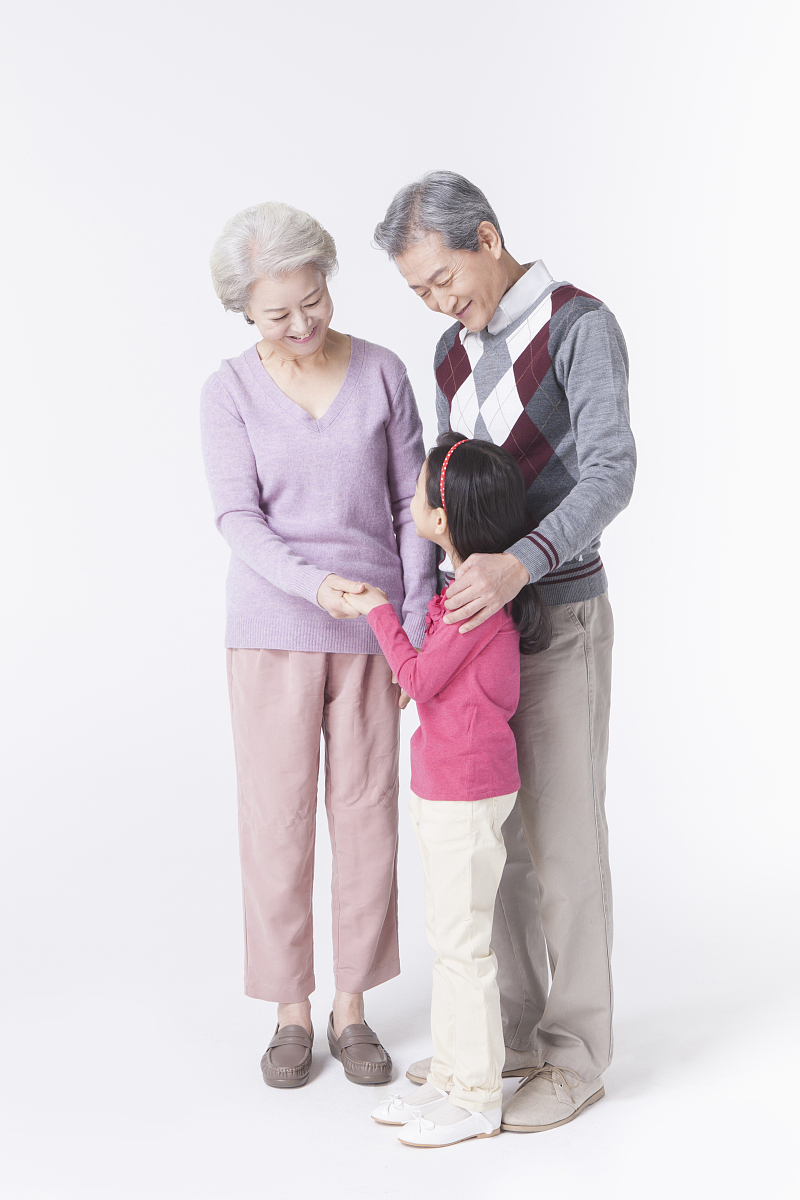 抱孙子 表情包分享展示图片