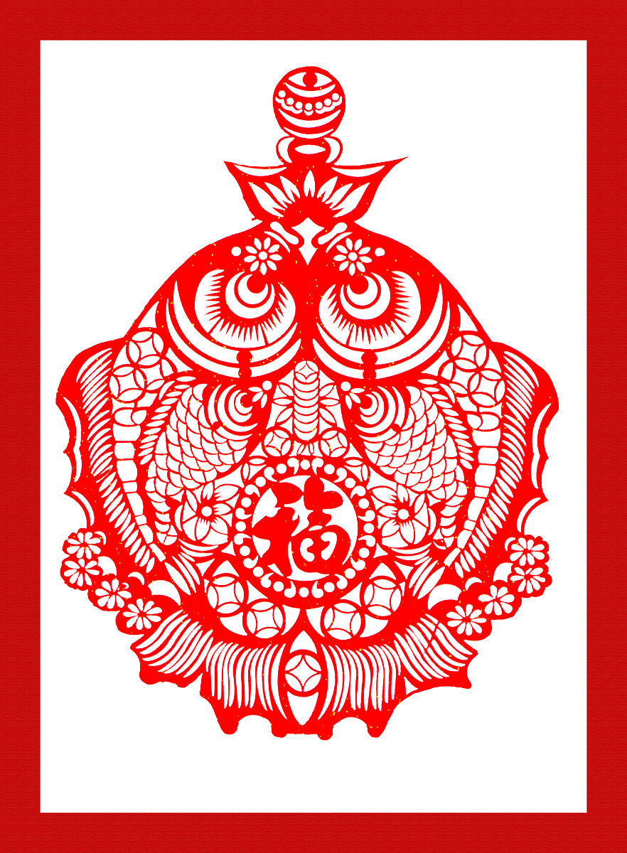 鲤鱼铜钱莲花纹身图分享展示图片