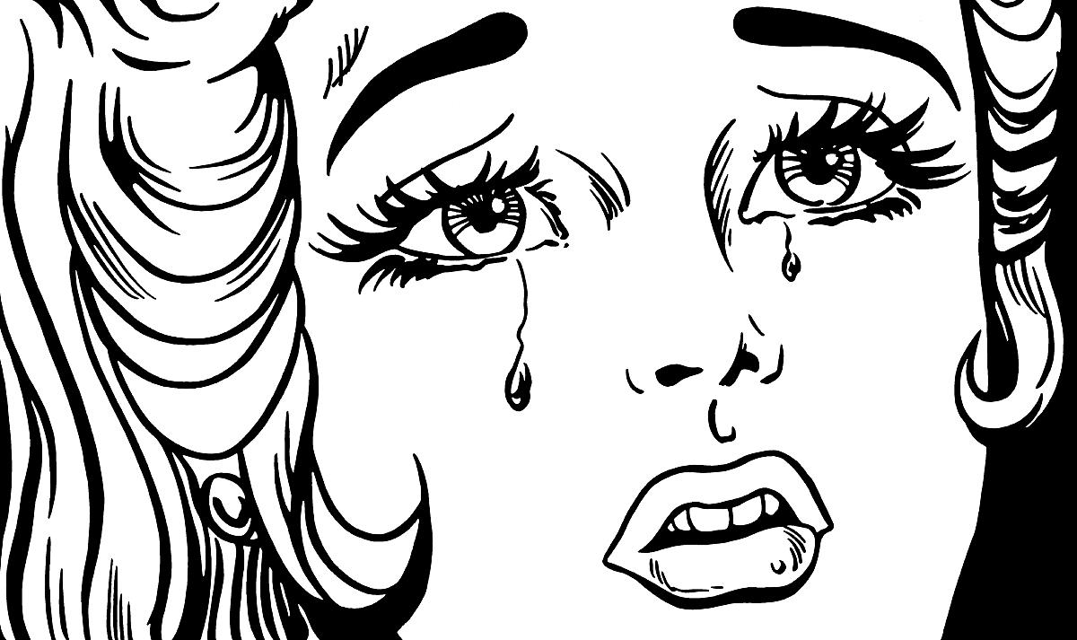 表情头像图黑白简笔画分享展示图片