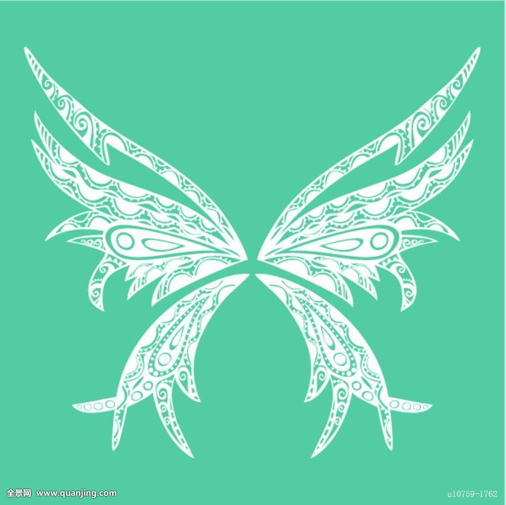 纹身,蝴蝶图片