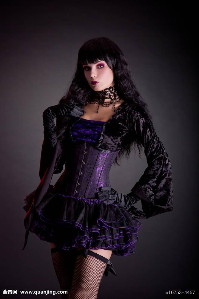 服饰,维多利亚时代风格,脸,头像,天鹅绒,束身内衣,魅力,哥特风,哥特图片