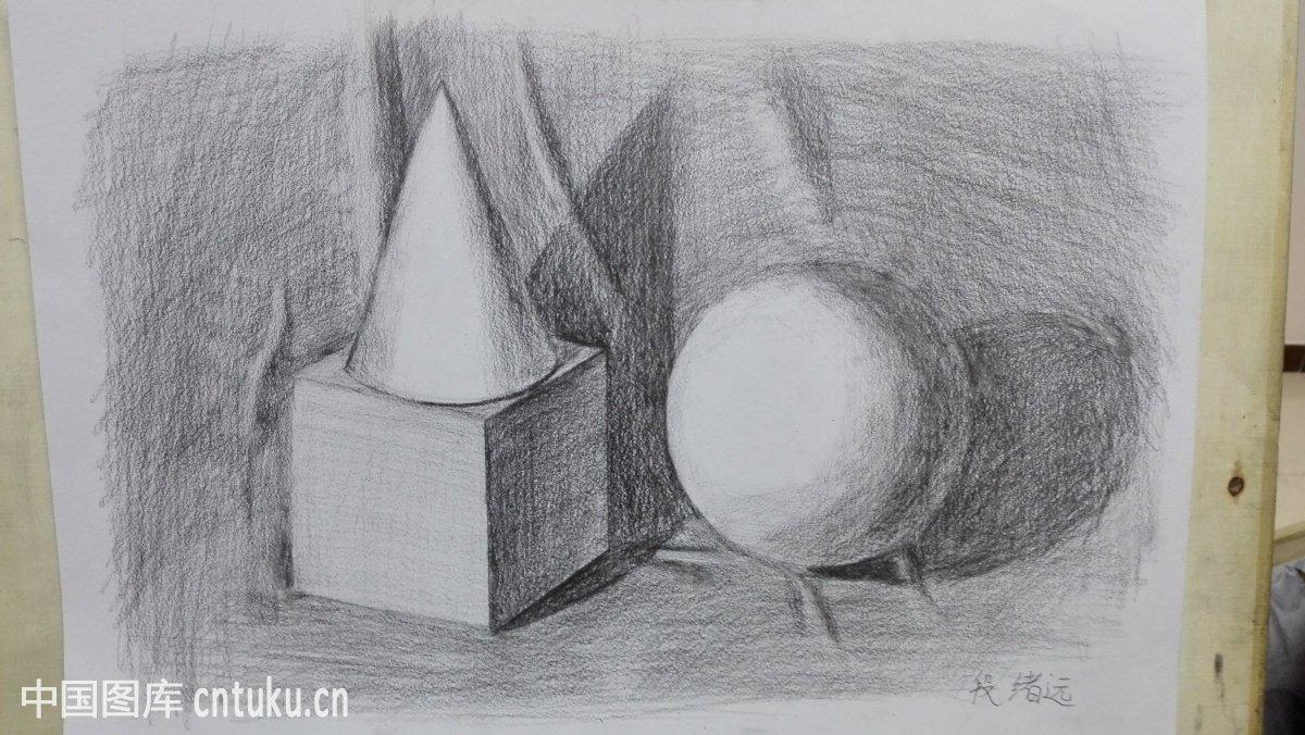 素描球体图解图片