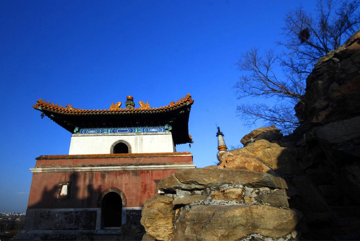 颐和园,四大部洲建筑群,宗教建筑,汉藏建筑群,中式建筑,中国传统古典图片