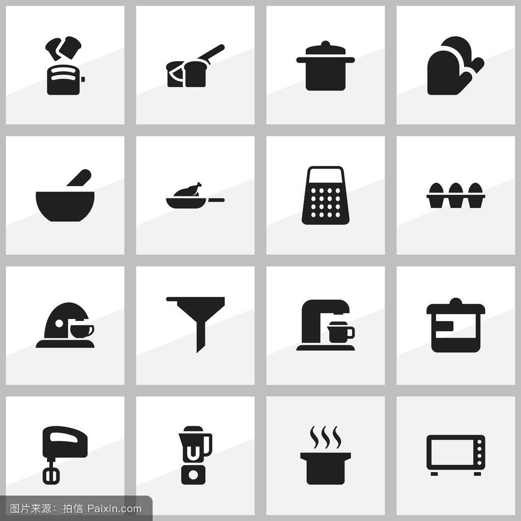 餐饮,倾倒,谷物,锅,电子学,汤,矢量,收集,行业,晚饭,纸箱,面包店,厨房图片