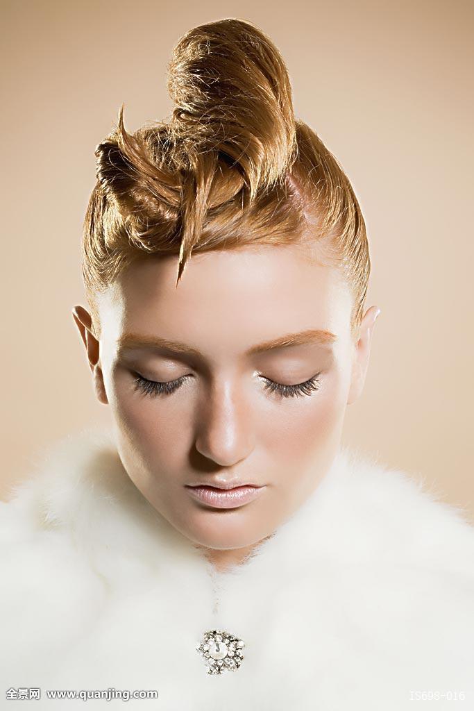 女士雕刻发型钻石分享展示图片图片