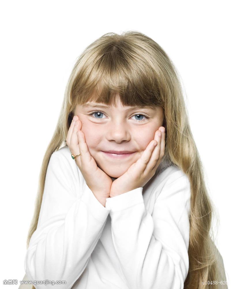 人,牙齿,孩子,白人,小,女孩,隔绝,头像,头部,背景,金发,头发,学龄前图片