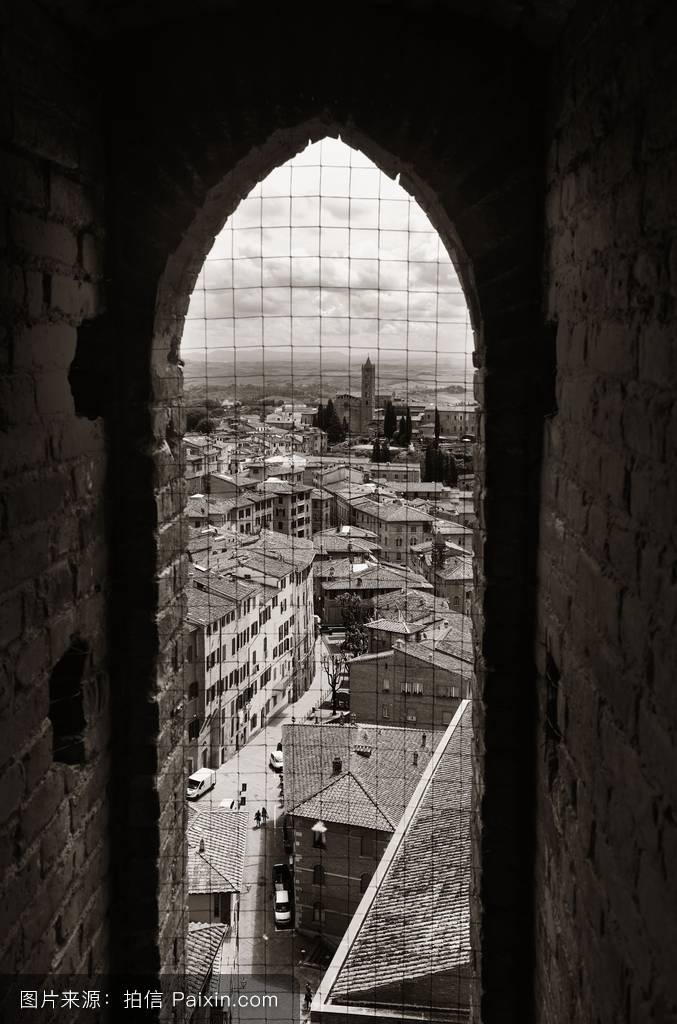 市政厅,锡耶纳,城市景观,窗口,看法,欧洲,旅行,托斯卡纳,地方,哥特式图片