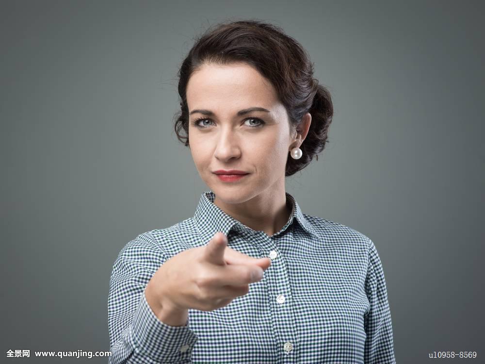 老板,专横,选择,自信,坚决,女性,女人味,手指,发型,索引,独特,女士,看图片