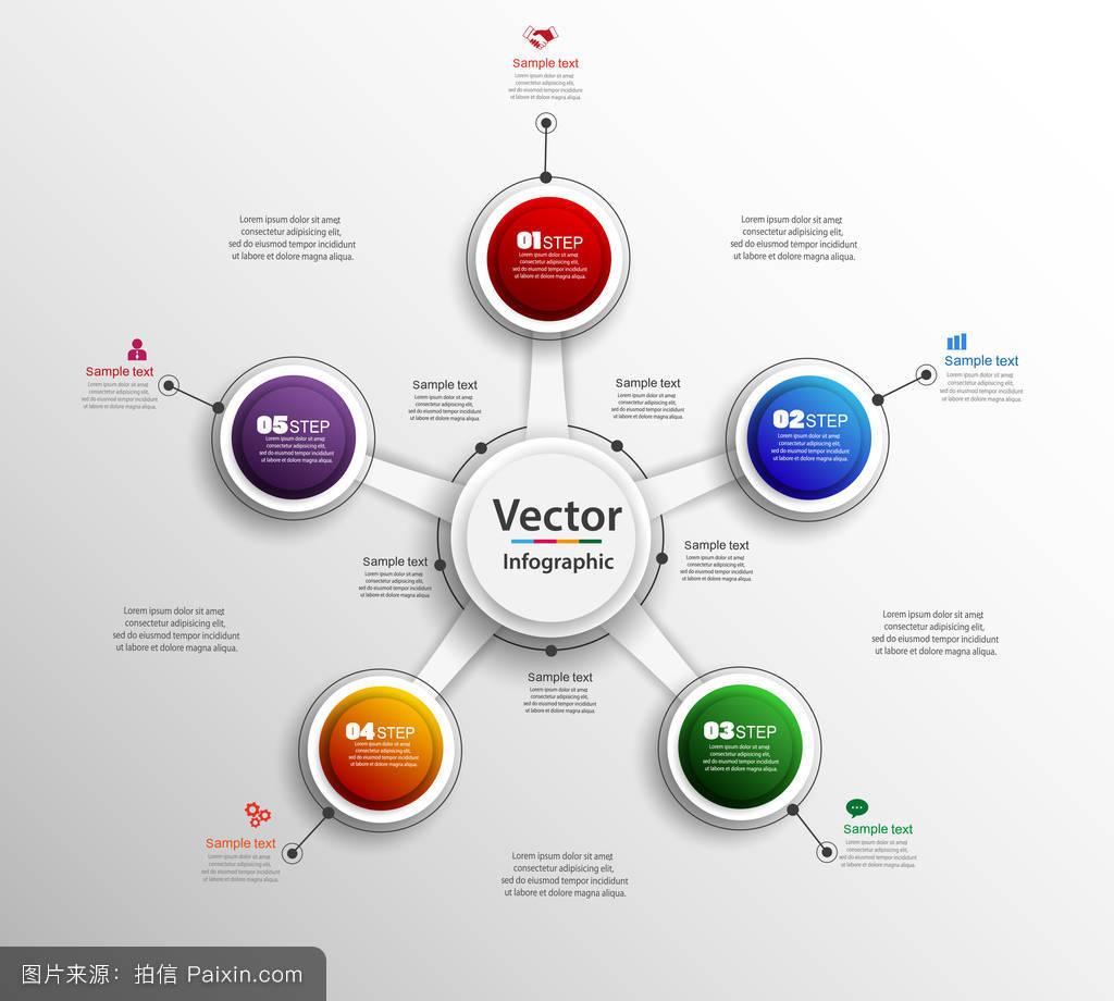 可用于工作流布局,图表,业务步骤选项,横幅,网页设计.矢量eps 10图片