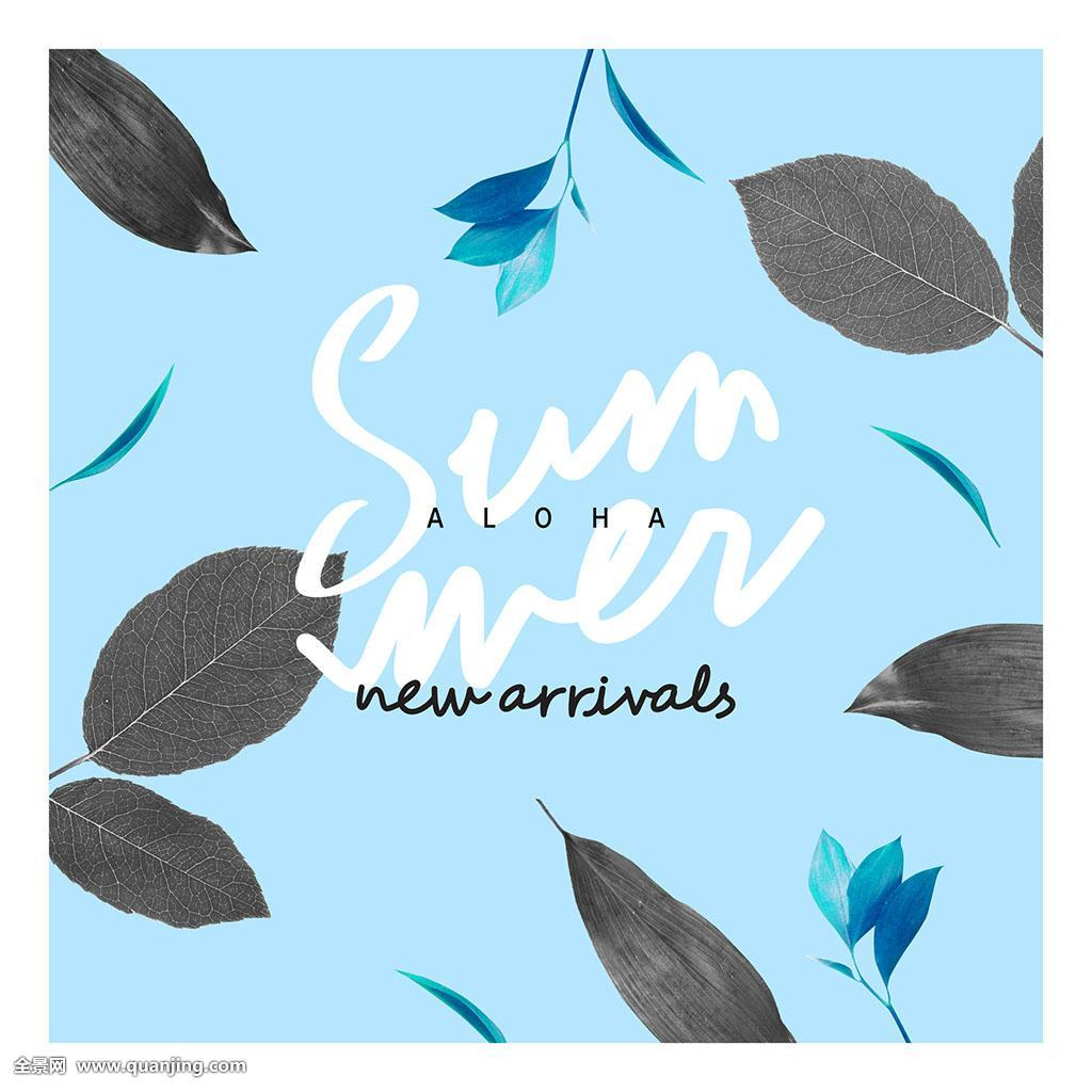 英文_满意,模版,网站,无人,文字,英文,购物,书法,夏天,季节,蓝色,时尚,隔绝
