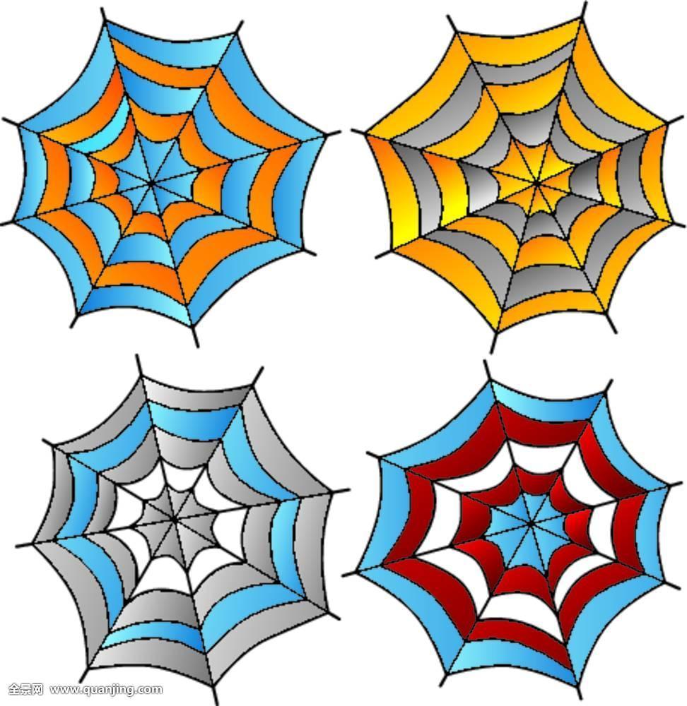 蜘蛛网纹身图腾分享展示图片